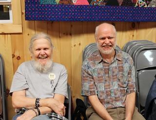 Dick and Dean, Balkan Camp 2009 (Ira Gessel)