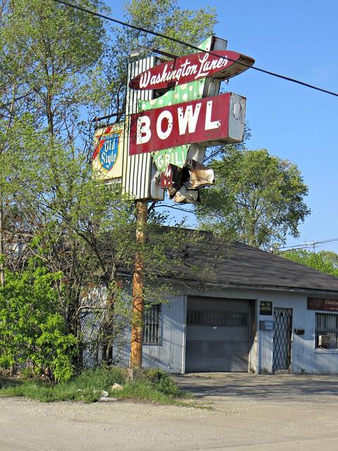 Washington Lanes (long gone), Joliet, IL