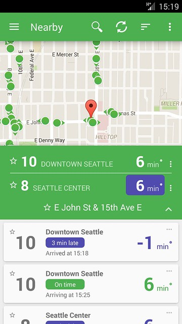 OneBusAway Unveils Redesigned Android App – Seattle Transit Blog