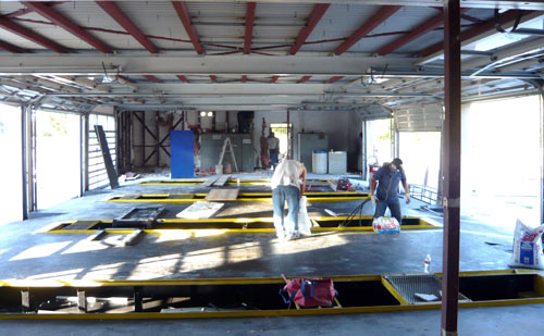 An amazing transformation from Exxon Jiffy Lube to Empowerment Center
