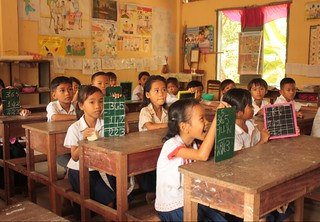 A primary classroom in Cambodia | by Global Partnership for Education - GPE
