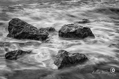 ocean longexposure vacation blackandwhite bw usa storm galveston beach water relax landscape fun photography rocks texas tour unitedstates picture wave tourist enjoy ellenyeates ellenyeatesphotography