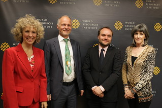 Jennifer Morgan, Rainer Baake, Lutz Weischer, Carol Browner | by World Resources