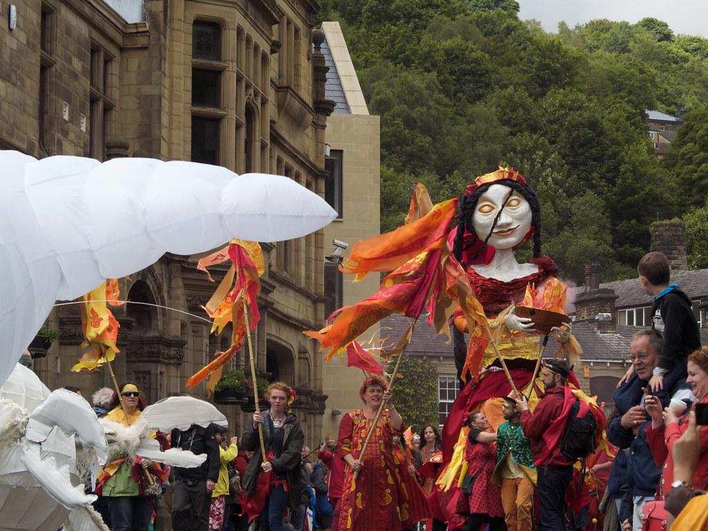 Dancers, Handmade Parade in Hebden bridge