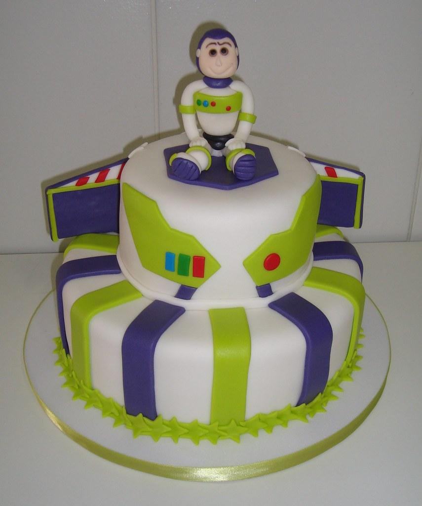 Bolo Toy Story - Buzz