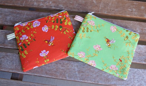 Nanny Bee Pouches | by fabricmutt