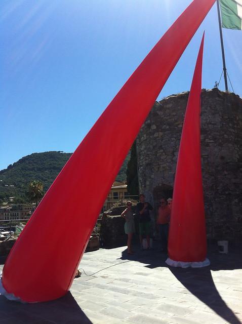 "2013 Personale ""Armonia plastica"" Castello cinquecentesco di Santa Margherita Ligure"