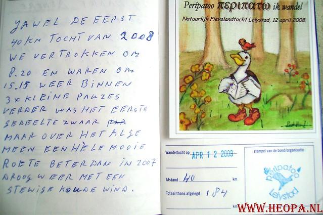 Natuurlijk Flevoland  12-04-2008  40Km (79)