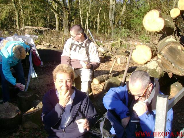 W.S.V.de Trekvogels 09-02-2008 15 Km  Apeldoorn (29)