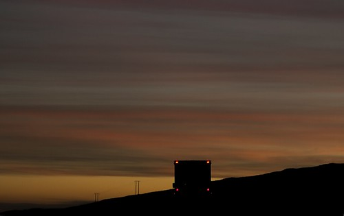 ireland silhouette sunrise ambulance emergency donegal taillights inishowen emergencyambulance ambulancesunrise
