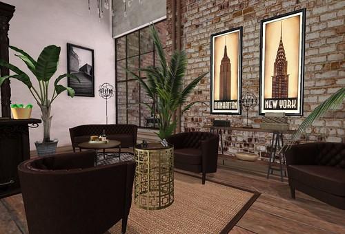 Heart Homes   Paddy's Irish Pub Chess Set Lighter   by Hidden Gems in Second Life (Interior Designer)