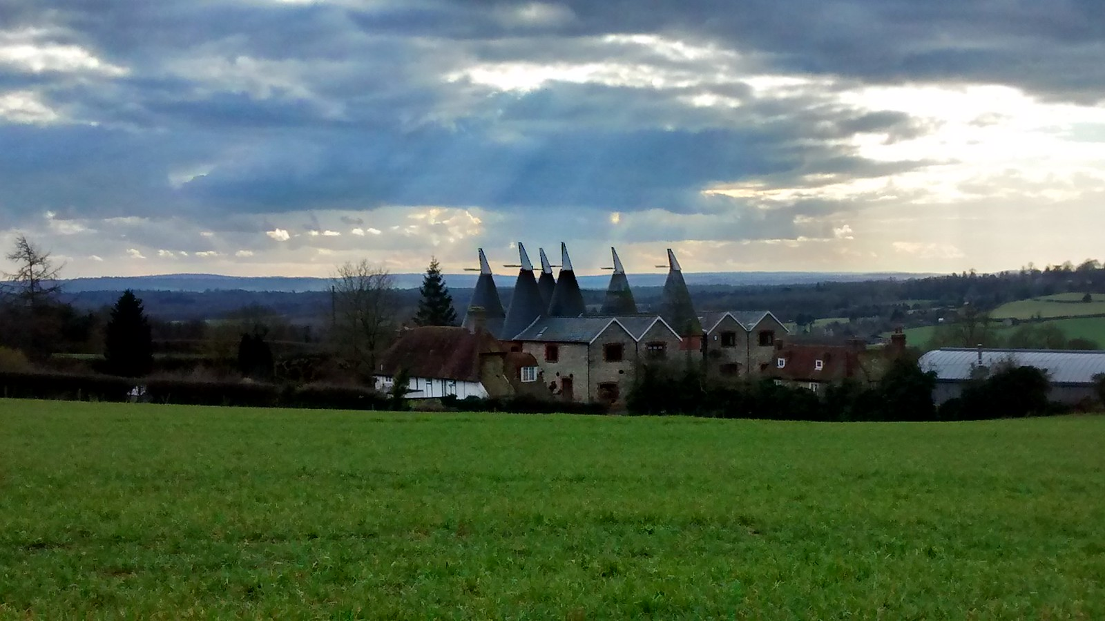 Oast Houses They went thataway