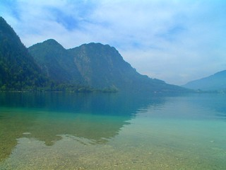 Clear Water of the Attersee