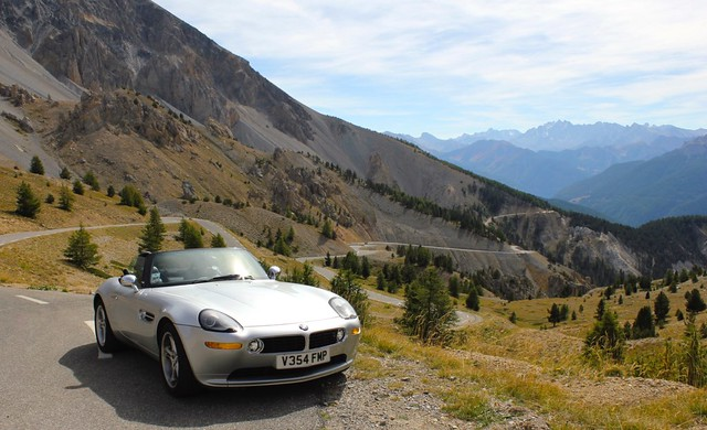 BMW Z8 - The long & winding road.