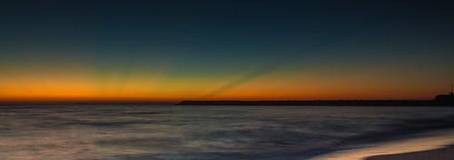 ocean sea beach canon colours earlymorning greenrays blacksmithsbeach
