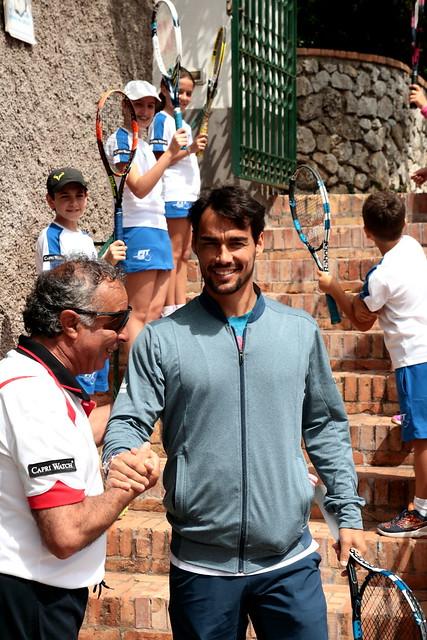 Capri 2016 - Fognini @Tennis Club Capri