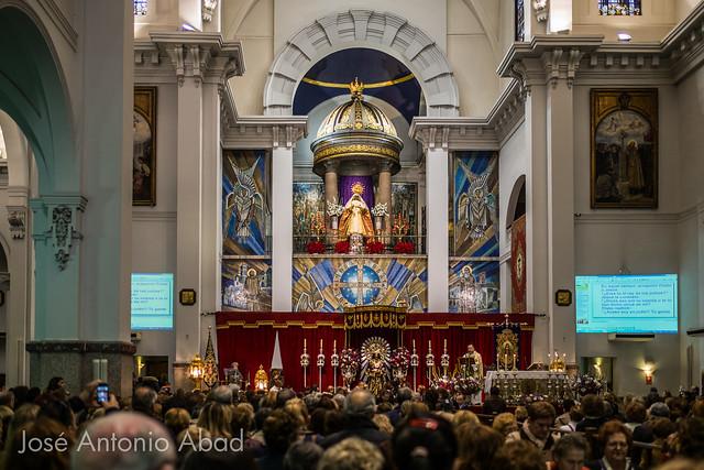 Besapié de Jesús de Medinaceli en Madrid