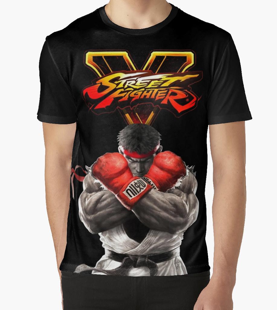 Street Fighter V Ryu T Shirt Http Shrsl Com D49q Flickr