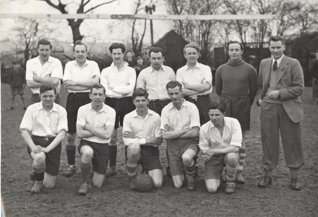 Marist College, Hull, Men's Football team 1950s (archive r