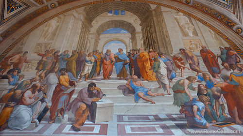 School of Athens, Vatican Museums | by Rome Cabs