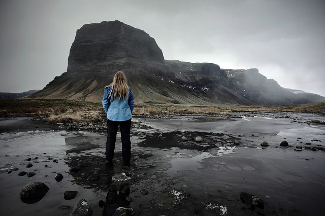 Enjoying the View of Lomagnupur, Southern Iceland 2