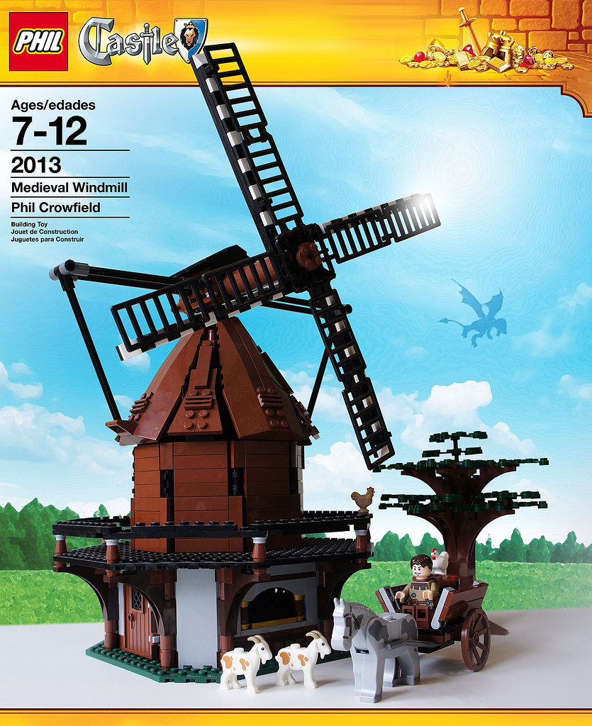 LEGO medieval windmill packaging | just for fun | Phil