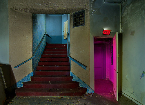 abandoned night movie berry theater texas fort worth