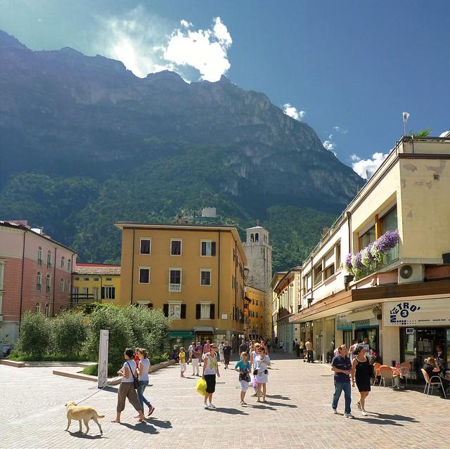 Summertime in Riva del Garda