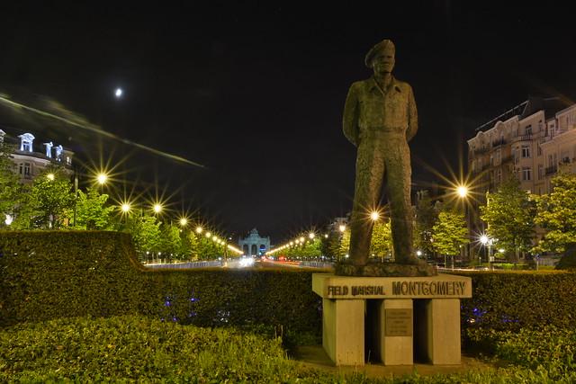 Statue Montgomery.