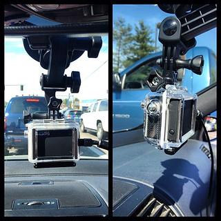 GoPro dash cam. #GoPro #DashCam #SuctionCupMount #GTI | by fujimatt