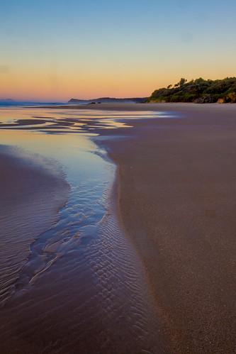 ocean morning beach sunrise coast sand australia