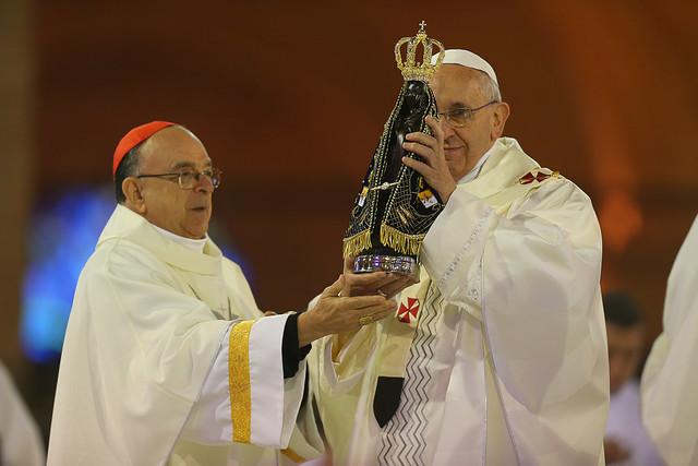 JMJ2013: El Papa Francisco en Aparecida
