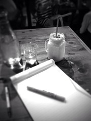 Shifted to a smoothie. #cafe #research