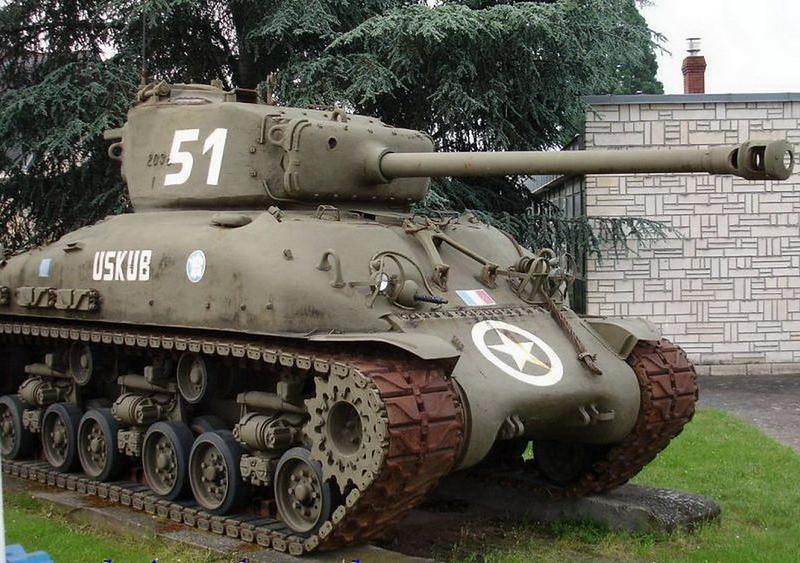 M4A1谢尔曼(1)