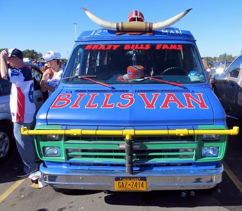 Bills fan van   by runneralan2004