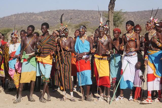 The Young Men of the Samburu Tribe