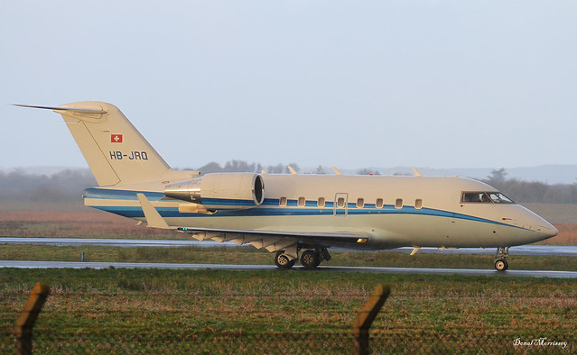 Albinati Aeronautics / VERENO AVIATION Ltd Challenger 604 HB-JRQ