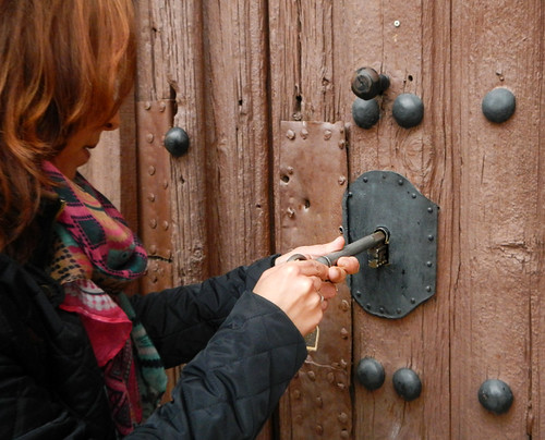 Locking Up a Church in Spain with 'The Big Key'