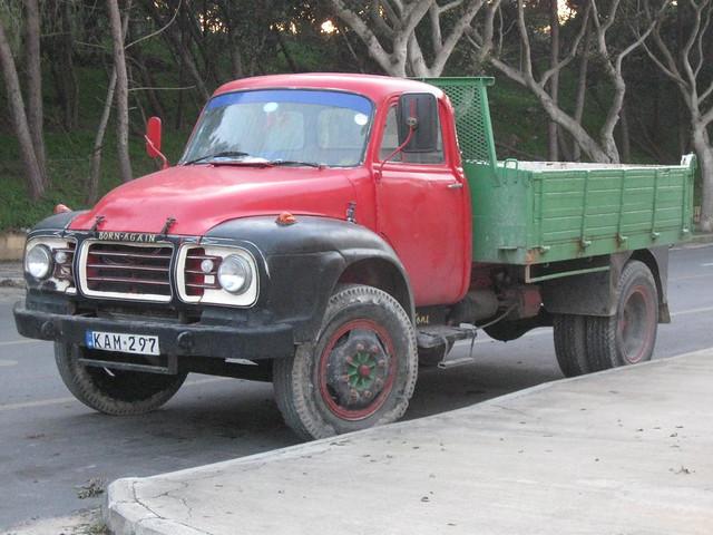 Maltese Bedford J type seen 2011