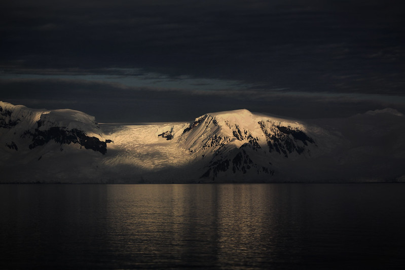 Dusk on the Antarctic Peninsula