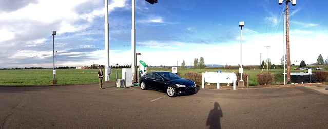 At the 34 & I5 Fast Charger.