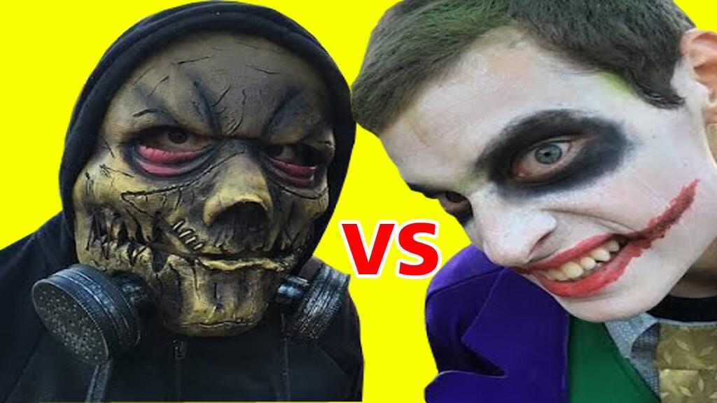 Joker Vs Scarecrow Bane Vs Spiderman Vs Venom In Real Life Battle Superhero Movie A Photo On Flickriver
