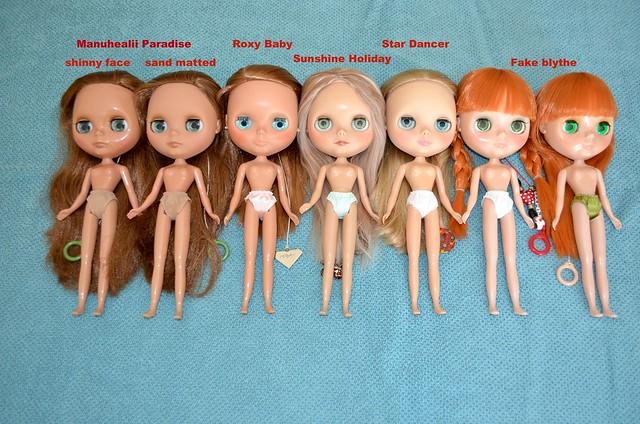My tan skin girls