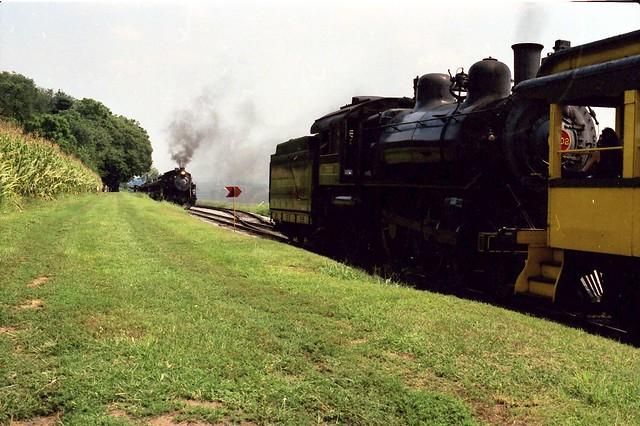 Strasburg RR 90 passed by PRR 7002