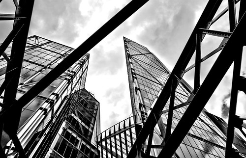 Metal & Glass London City Evolves - Office Life | by Simon Hadleigh-Sparks