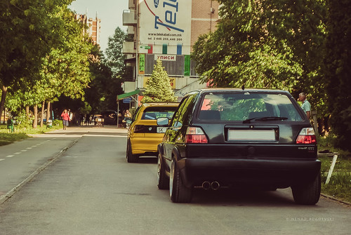 street 2 black vw golf photography back low macedonia gti astra opel skopje