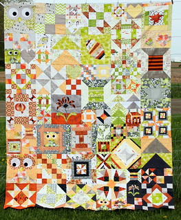 My Favorite Block Quilt Along - Top Pieced! | by PersimonDreams
