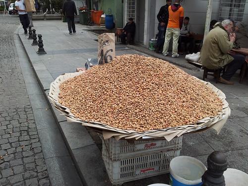 Pistachio seller