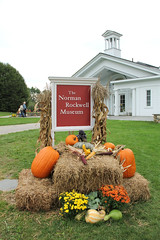 Norman Rockwell Museum in the Fall