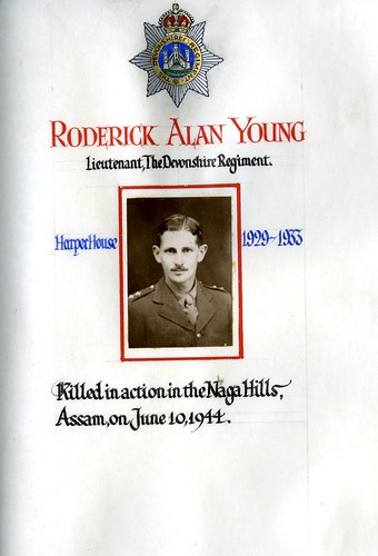 Young, Roderick Alan (1916-1944) | by sherborneschoolarchives